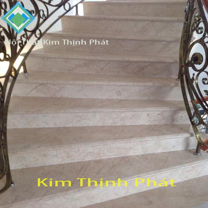 cầu thang đá hoa cương vàng rosa-light f6